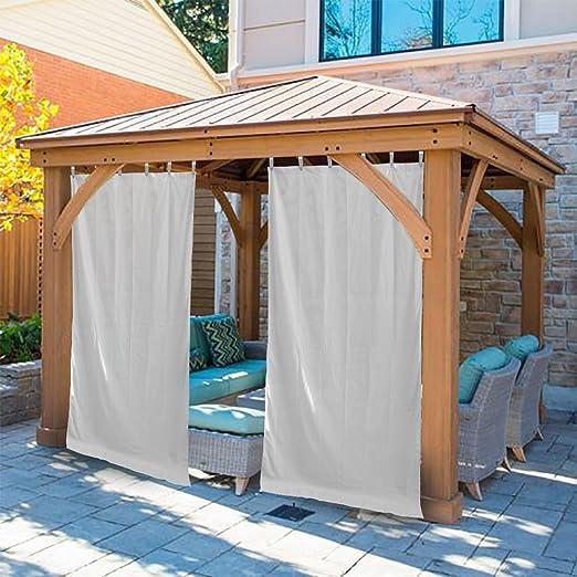 Al aire libre solo Panel de cortina de ventana privacidad para ...