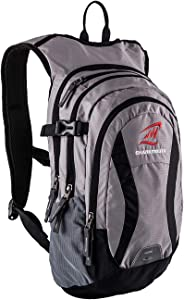 SHARKMOUTH Hiking Hydration Backpack Pack with 2.5L BPA Free Water Bladder, Roomy and Comfortable for Long Day Hikes, Day Trips, Daypack Travel and Journey