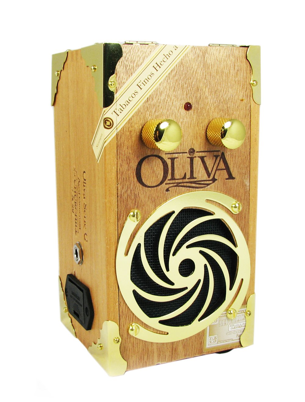 Cigar Box Amplifier: ''Gold Hurricane'' Oliva G Series - Hand-made in the USA! by C. B. Gitty