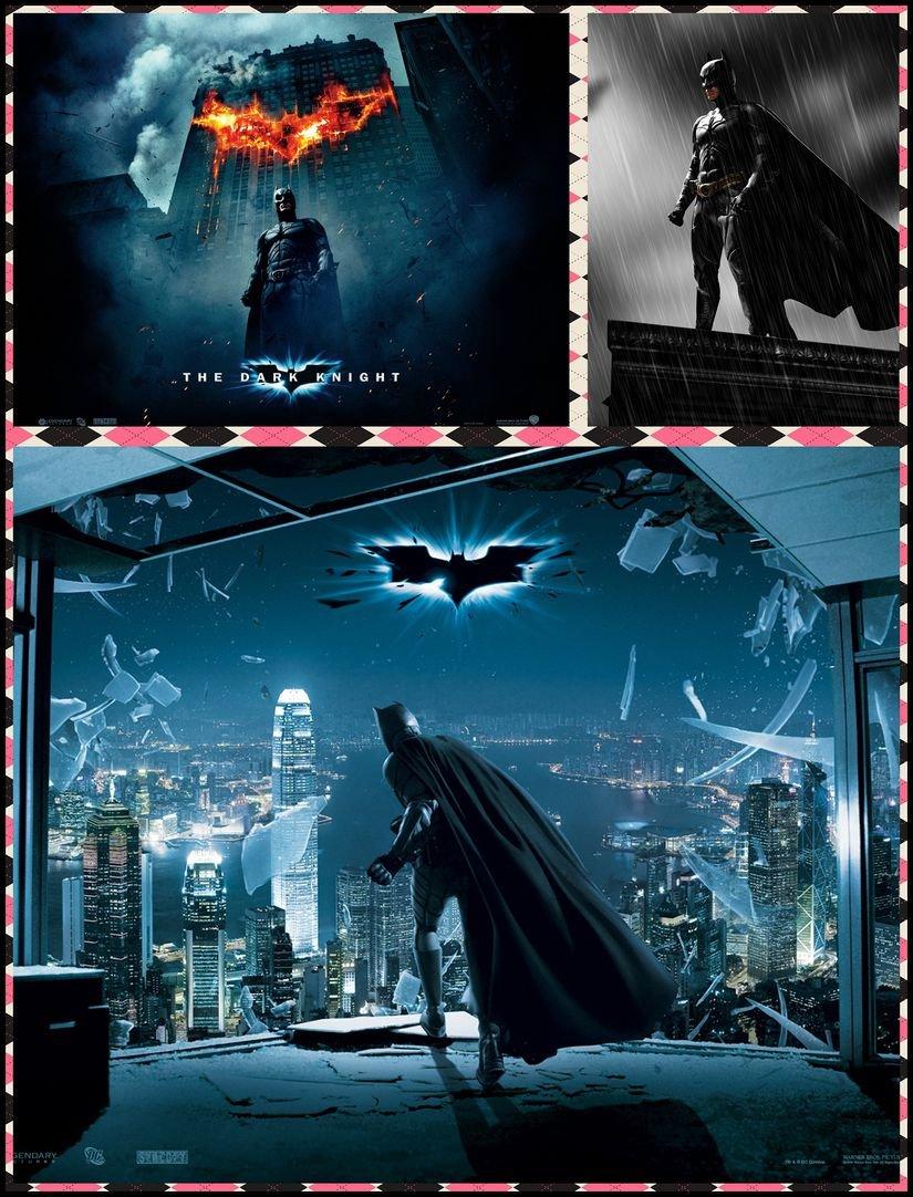 Batman The Dark Knight 025 Waterproof Plastic Poster Cartel ...
