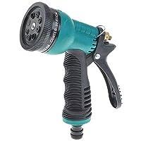 Ivaan Trigger Car Washing Gardening Plastic Water Spray Gun (2x5.5x16cm, Green)