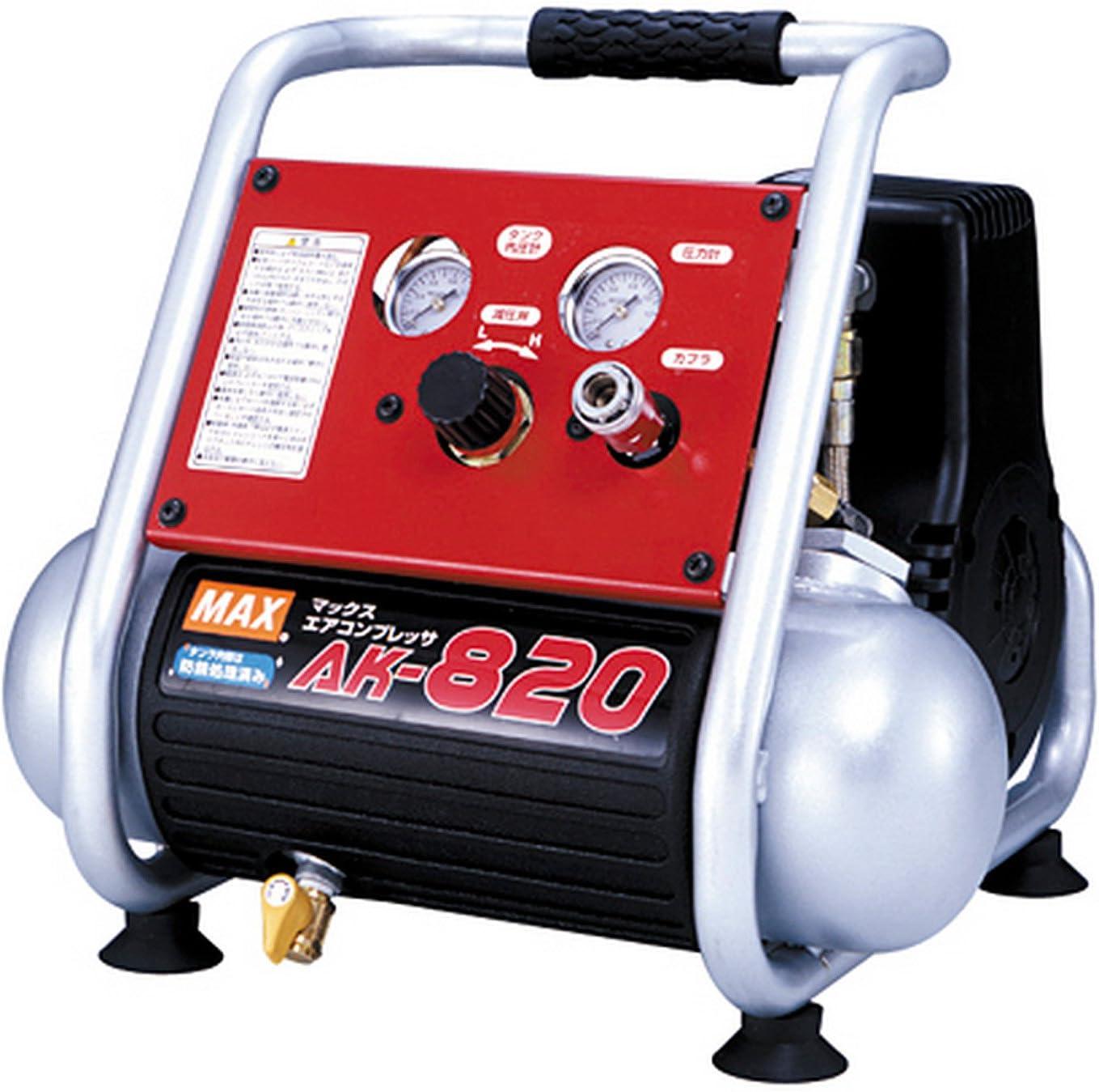 マックス 常圧専用エアコンプレッサ AK-820