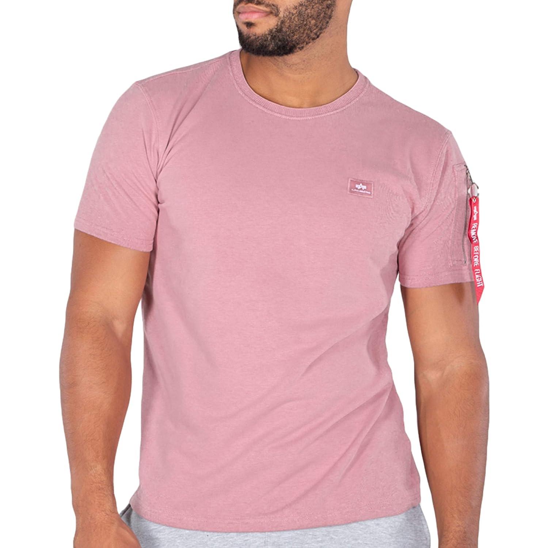 ALPHA INDUSTRIES Men T-Shirt X-Fit Heavy, Talla:L, Color:Silver ...