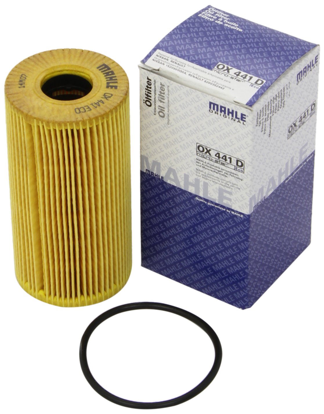 Mahle Filter OX441D Filtro De Aceite