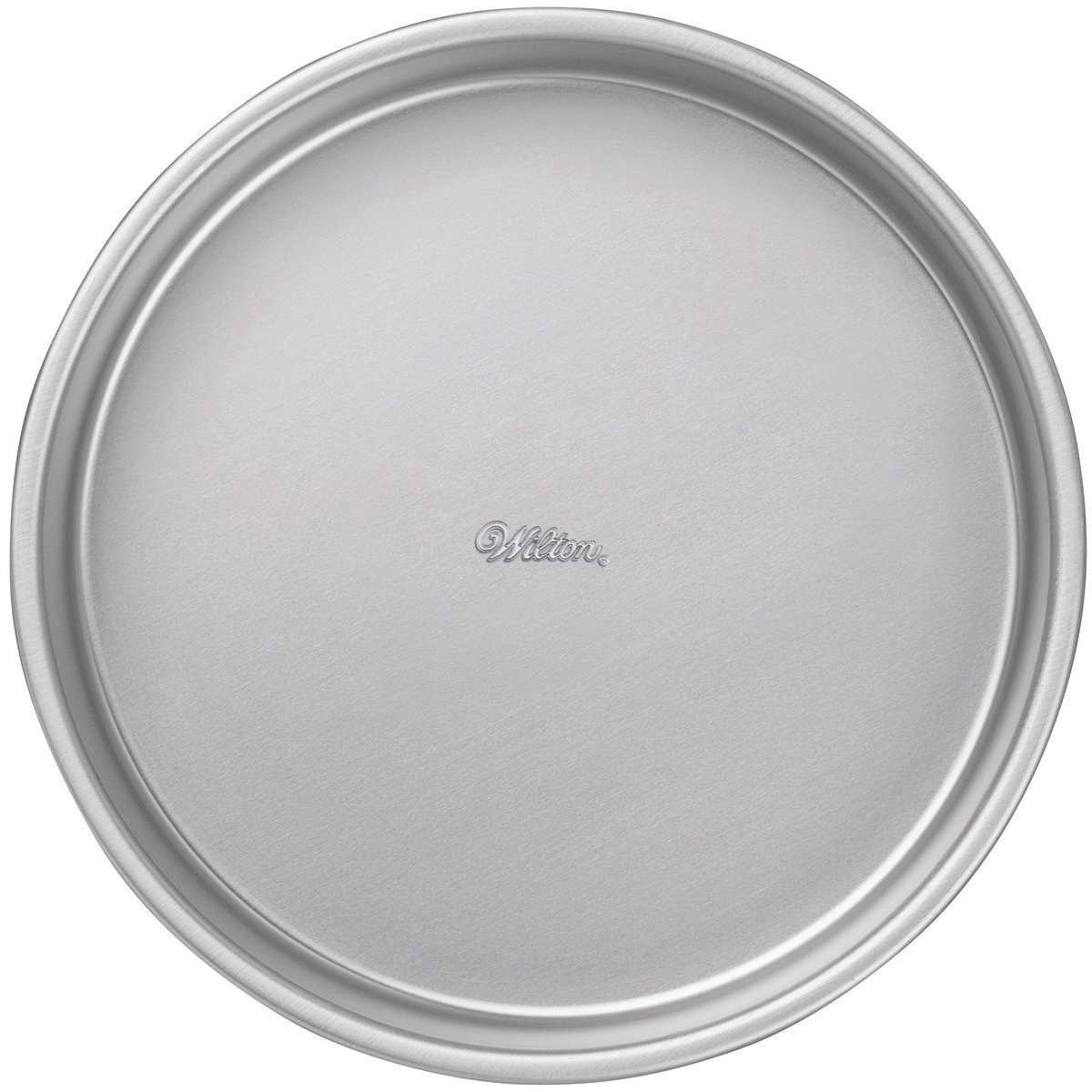 Amazon.com: Wilton 2105-2207 Performance Aluminum Cake, 10-Inch PERF PAN 10X2 ROUND, (Renewed): Kitchen & Dining