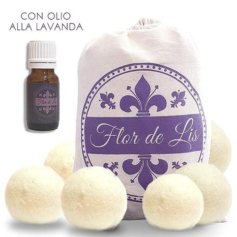 Juego de bolas secadoras con perfume de aceite esencial de lavanda ...