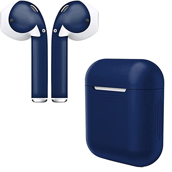Amazon Com Airpod Skins Charging Case Cover Protective Silicone