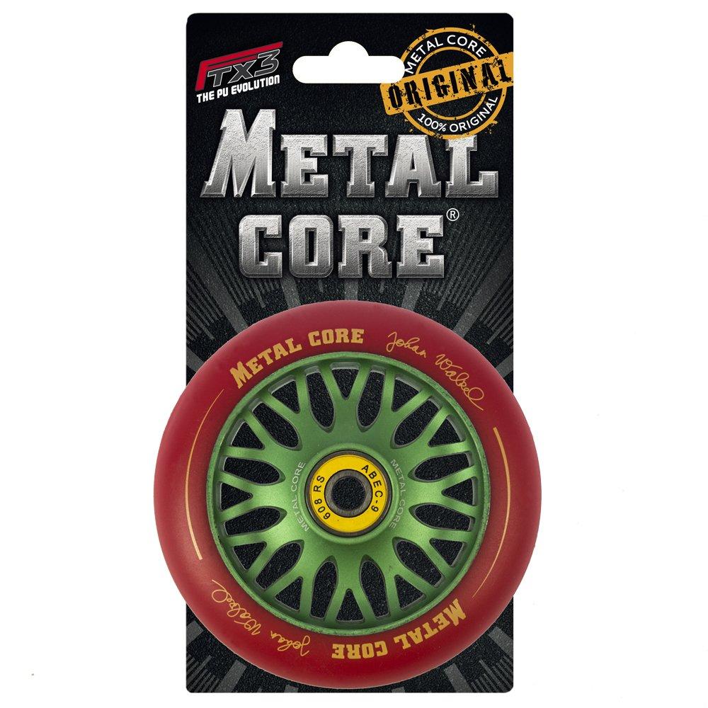 Di/ámetro 100 mm Metal Core Rueda Johan para Scooter Freestyle
