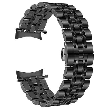 Amazon.com: TRUMiRR - Correa de reloj para Samsung Gear S3 y ...