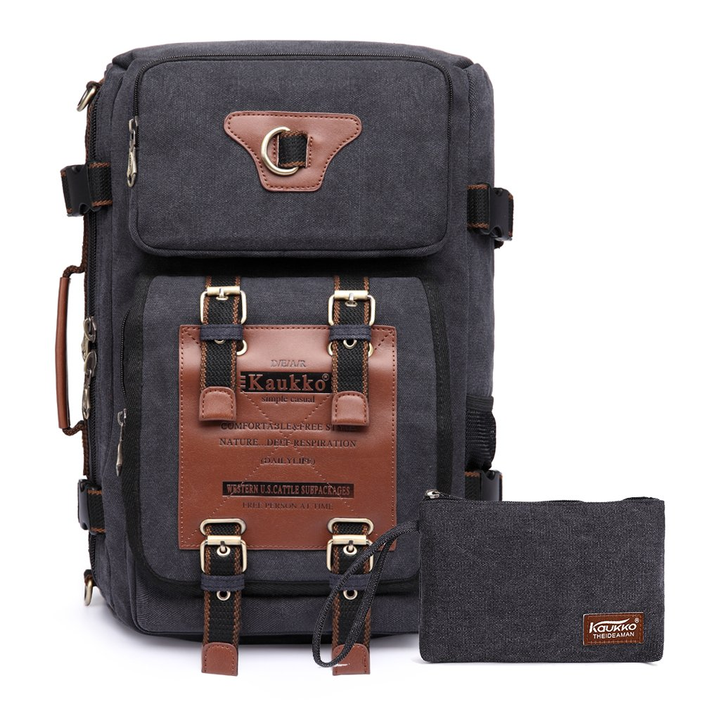 84781b9b4a Casual Vintage Canvas Backpack