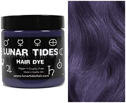 Smokey Purple, tinte para el cabello semi permanente púrpura - 118 ml - Lunar Tides
