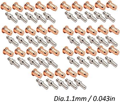 Everlast powerplasma 50S 60S 10PC electrodes /& nozzle kit