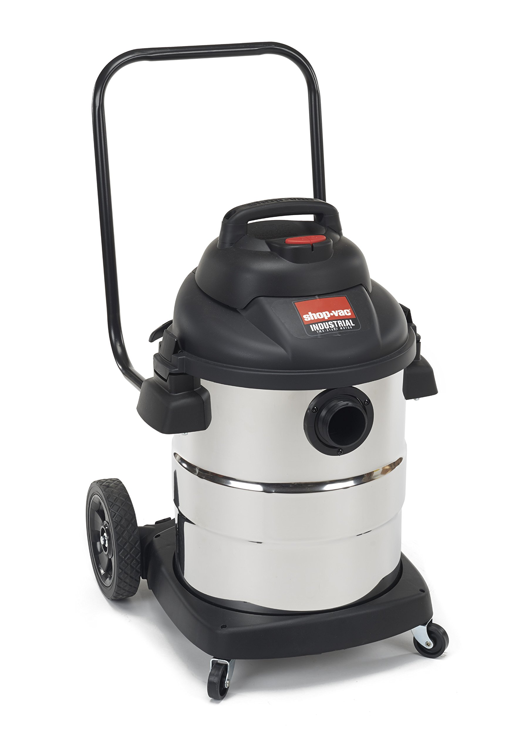 Shop-Vac 9624010 2.5 Peak HP 2 Stage Stainless Steel Wet Dry Vacuum, 10-Gallon