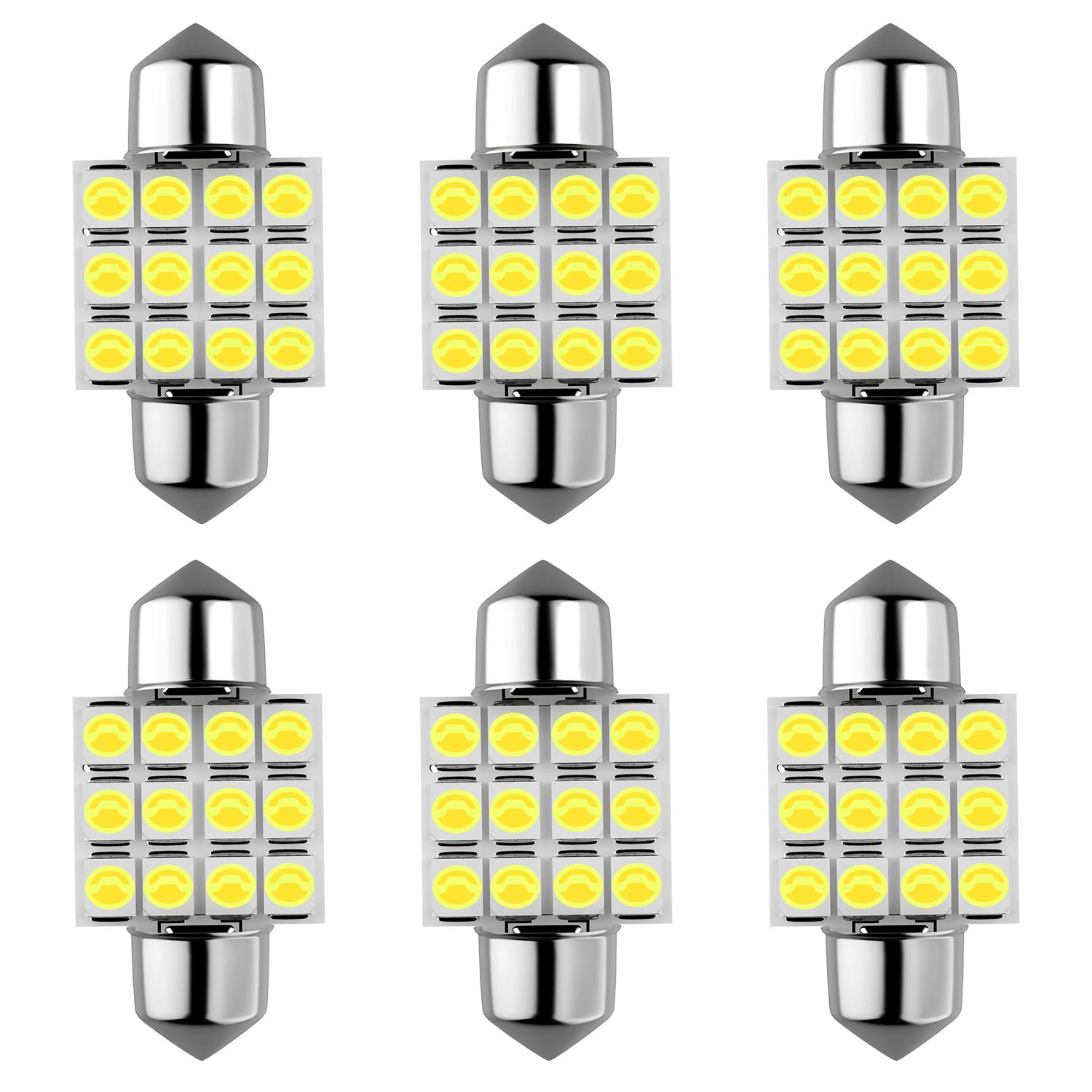 (2018 New Model) Super Bright 921 Led Bulb 4800 Lumens Error Free 921 912 T10 T15 for Backup Reverse Lights, Xenon White, No Hyper Flash(Pack of 4) HX Online