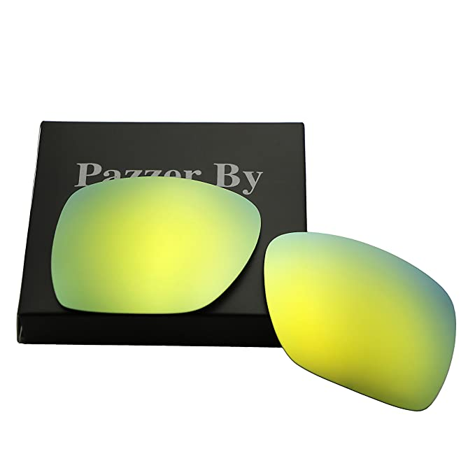 5ee999c94b Polarized Replacement Lenses for Oakley Deviation - Multiple Colors (24K  Gold Mirrored Coating