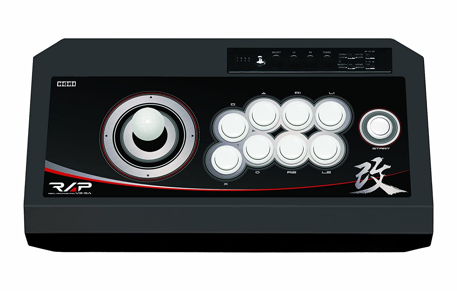 V3 SA Kai, PS3 - Volante/mando (PS3, Especial, Playstation 3, Select, Start, Turbo, Alámbrico, USB 2.0, 3m) Negro: Amazon.es: Videojuegos