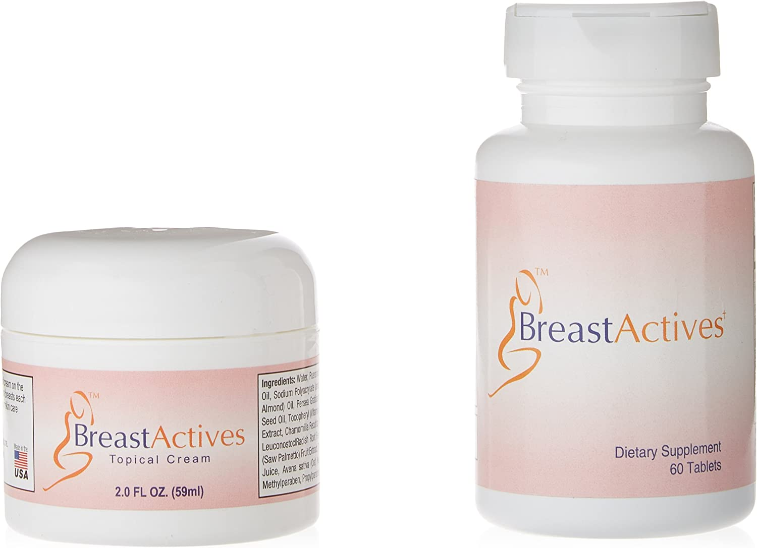 Amazon Com Breast Actives All Natural Breast Enhancement