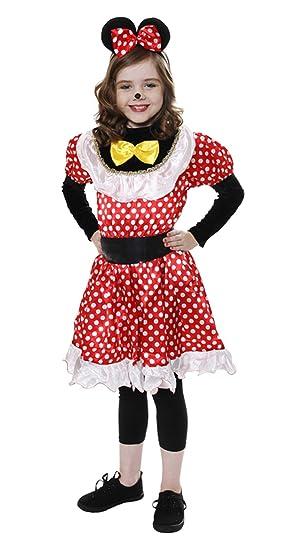 Mouse - Disfraz de ratón para niña, talla L (10-12 años) (U24 036 ...