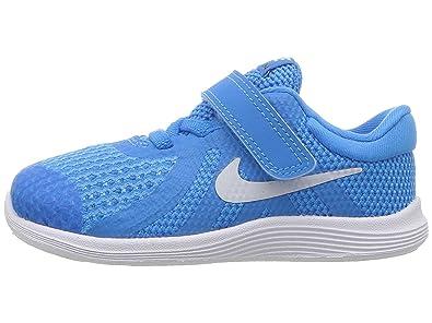 new arrival 3be91 21f5b Nike Revolution 4 (TDV), Chaussons Mixte bébé, Multicolore Hero Pure  Platinum
