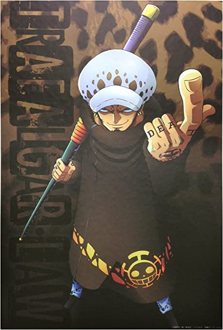 Amazon Co Jp One Piece ワンピース 壁紙 60cm 90cm トラファルガー ロー おもちゃ