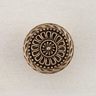 product image for Acorn Manufacturing DQFGP Artisan Collection Lace Circle Knob44; Museum Gold