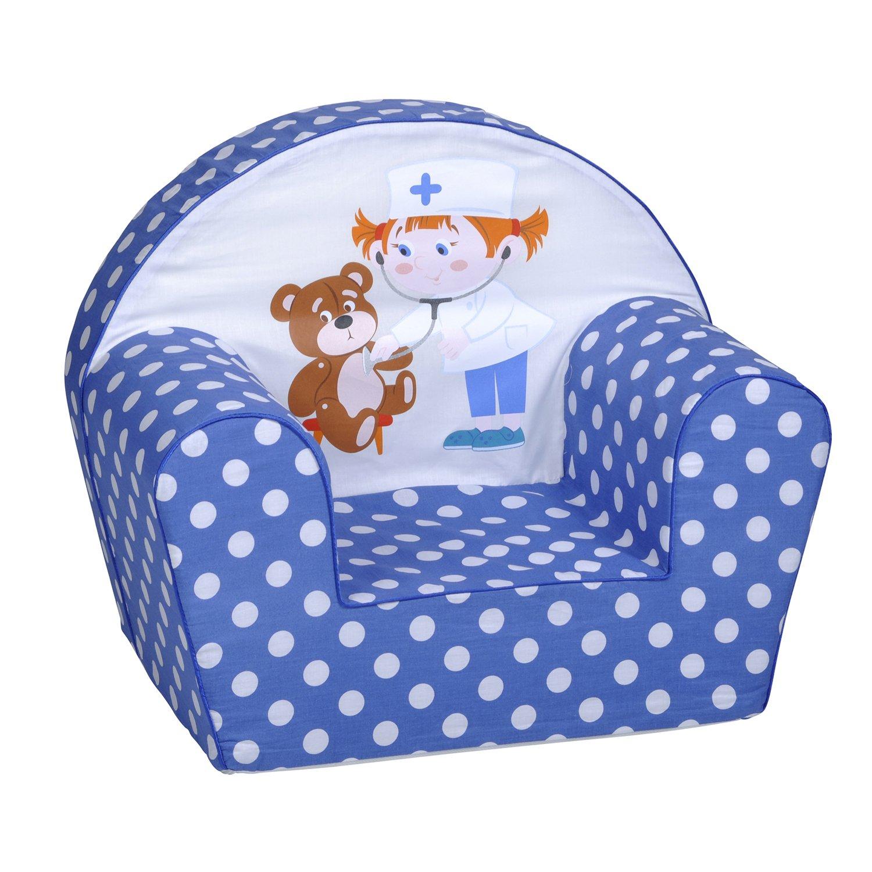 Knorrtoys Teddy Doc - sillones (Silla, Azul, Color blanco)