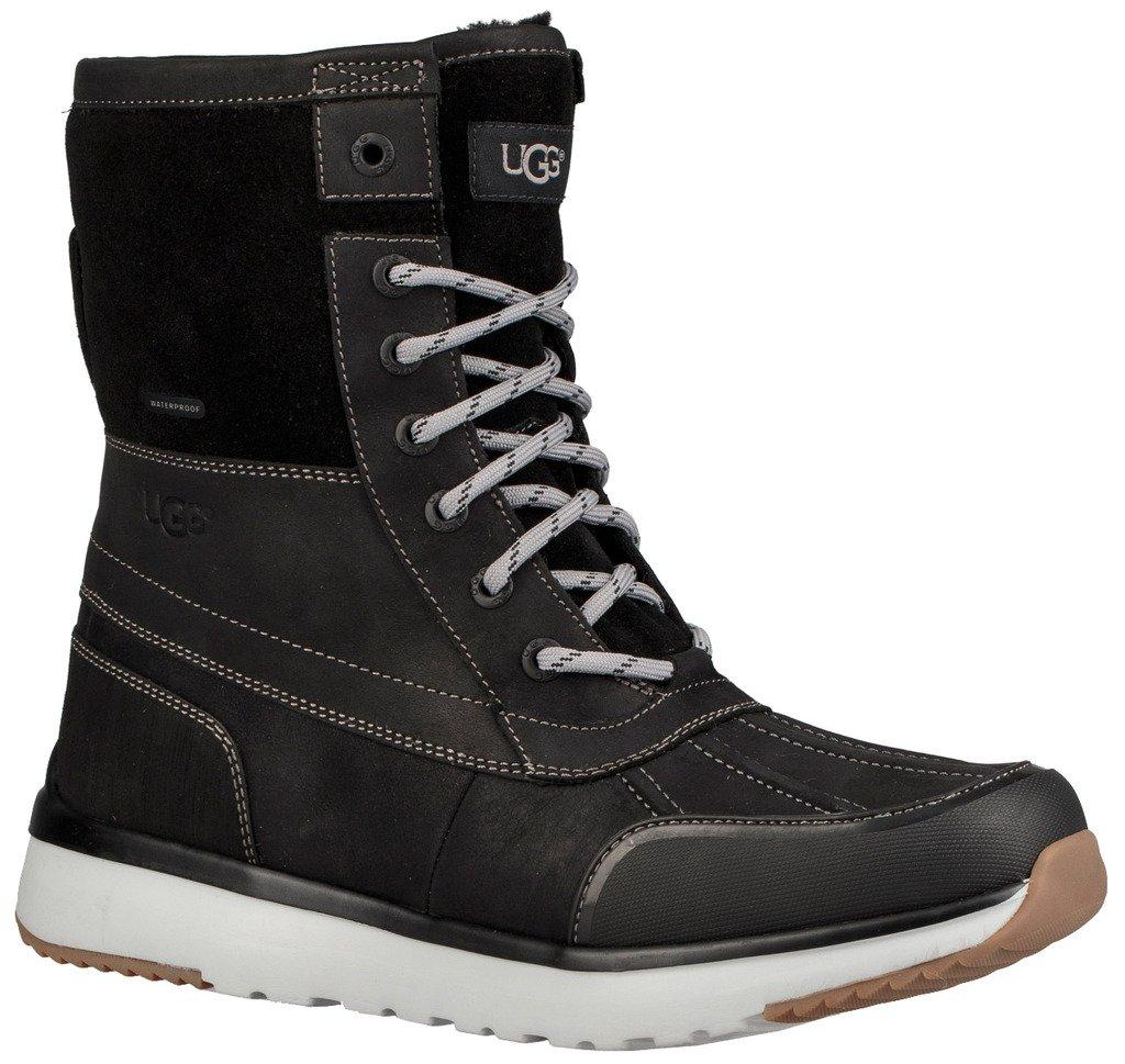 UGG Men's Eliasson Snow Boot, Black, 11.5 M US