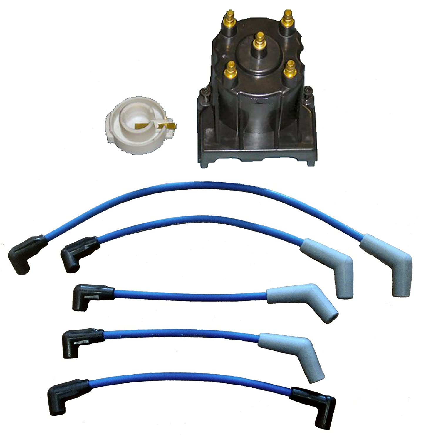 Tungsten Marine Tune Up Kit With Plug Wires For Spark Wiring 1994 Volvo Some Mercruiser 30l Lx Replaces 811635q2 816761q14 Sports Outdoors