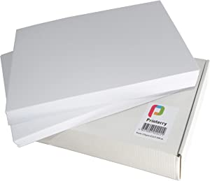 Printerry Matte Photo Paper 8.5 x 11 Inches (200 Sheets) 58lbs/220gsm, Double Sided