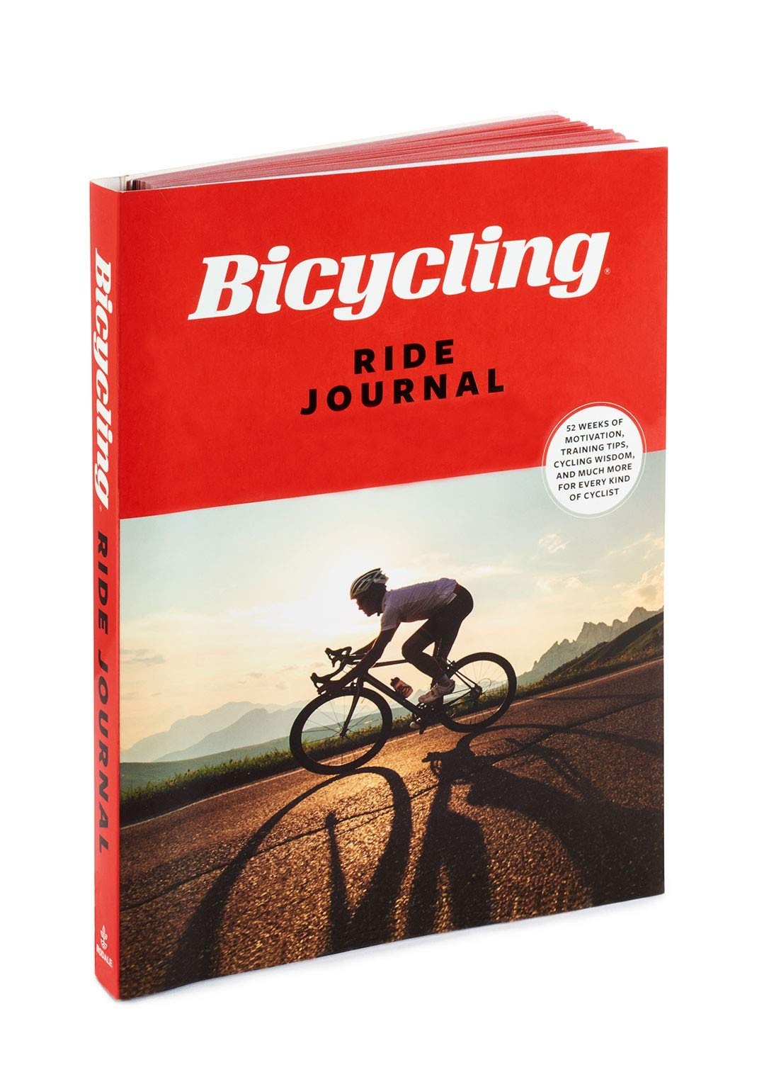 Bicycling Ride Journal: 52 Weeks of Motivation, Training Tips, Cycling Wisdom, and Much More for Every Kind of Cyclist