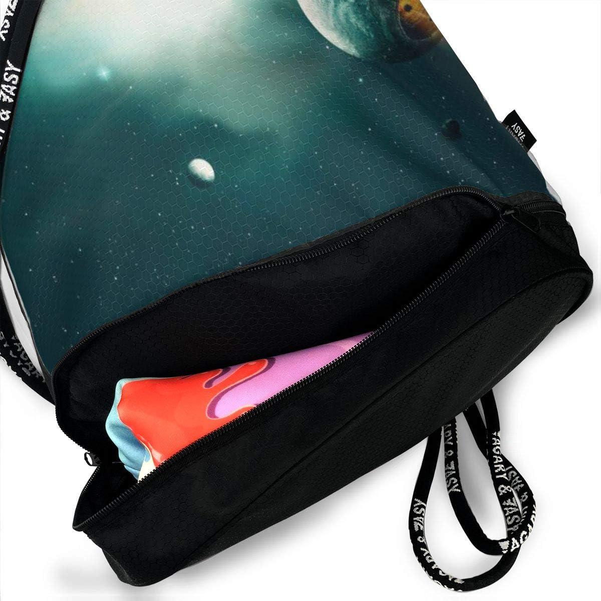 GymSack Drawstring Bag Sackpack The Big Bang Sport Cinch Pack Simple Bundle Pocke Backpack For Men Women