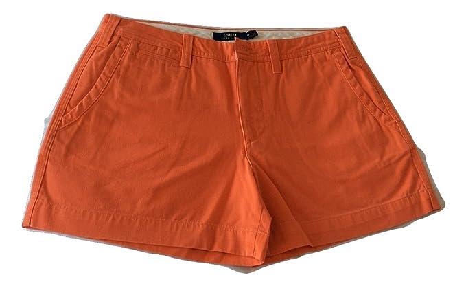 37be847eeca Polo Ralph Lauren Women s Chino Shorts (Beta Orange