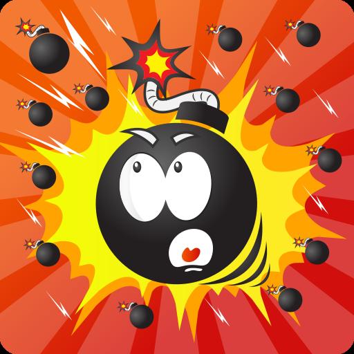 Bomb Rain Tap Reflex Game product image
