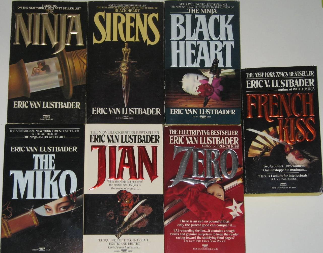 7 Best-Selling Thrillers By Eric Van Lustbader: