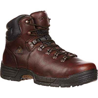Rocky Men's Mobilite Six Inch Steel Toe Work Boot | Industrial & Construction Boots