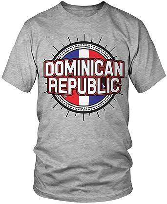 a1b88848 Amazon.com: Amdesco Dominican Flag, Dominican Republic Flag Country Shape Men's  T-Shirt: Clothing