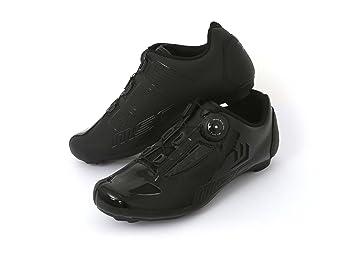 MSC Bikes Aero Road Zapatillas Ciclismo, Negro, T-45: Amazon.es: Deportes y aire libre