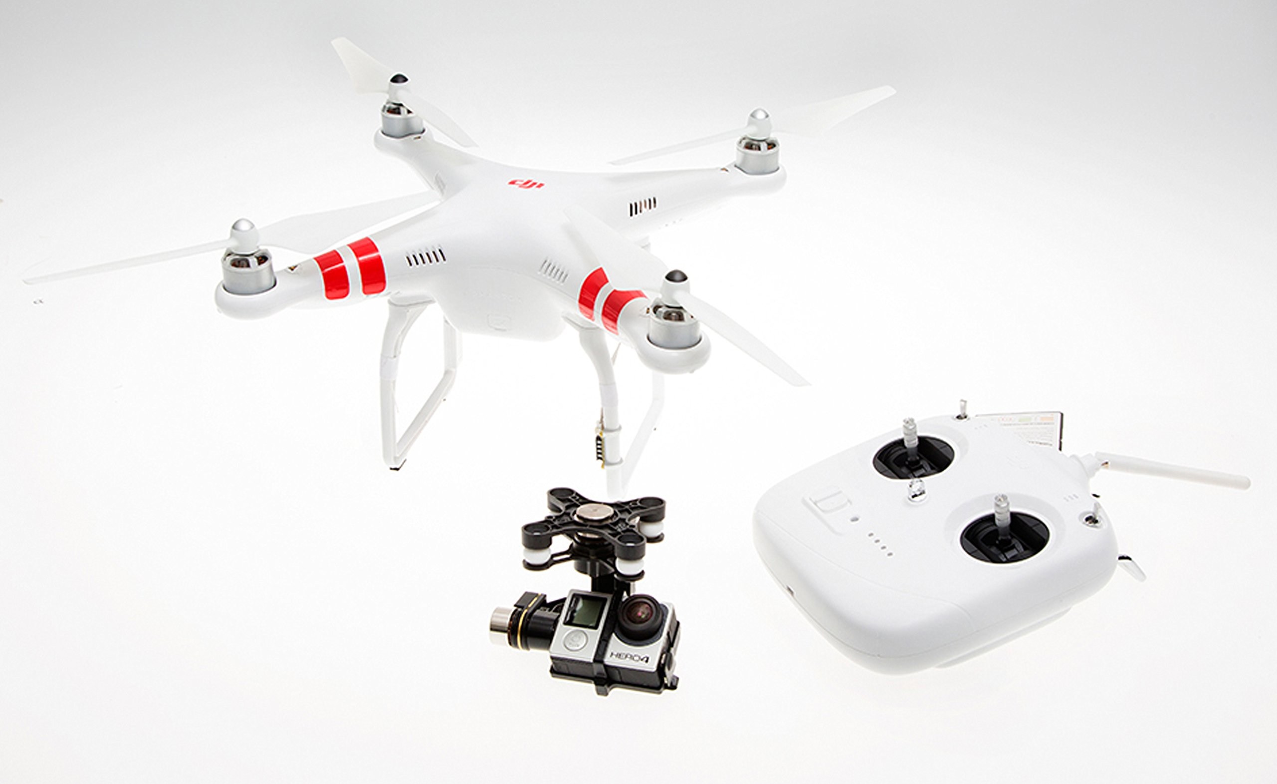 DJI Zenmuse H4-3D Gimbal for Phantom 2 by DJI