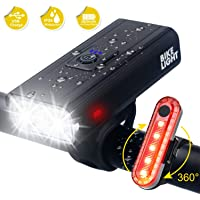 Gebalage Ultra Bright USB Rechargeable Bike Light Set