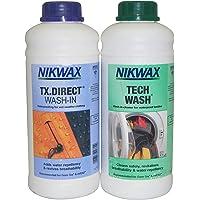 Nikwax Tech Wash/TX Direct Wash In 1 Litre (Twin Pack)