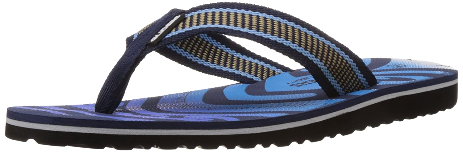 7e687e5fd Gliders (From Liberty) Men s Blue Rubber Flip Flops Thong Sandals - 10 UK   Buy Online at Low Prices in India - Amazon.in