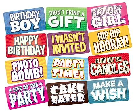 Amazon.com: Accesorios para fotos de cumpleaños, perfecto ...
