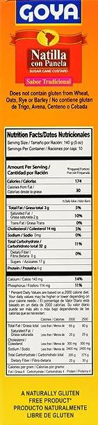 Amazon.com : Goya Foods Natilla Con Panela Sugar Cane Custard, 14.11 Ounce (Pack of 20) : Grocery & Gourmet Food