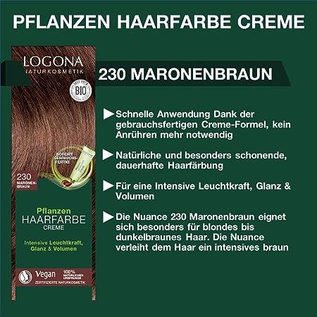 Logona Colorante Vegetal En Crema 230 Teca 150Ml. 150 ml