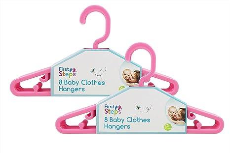 First Steps - Paquete de perchas para ropa de bebé (8, 16, 24 o 32 ...
