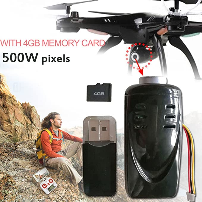 Hanbaili Syma x5c x5sc x5c-1 5 megapíxeles 1080P HD Camera Set con ...