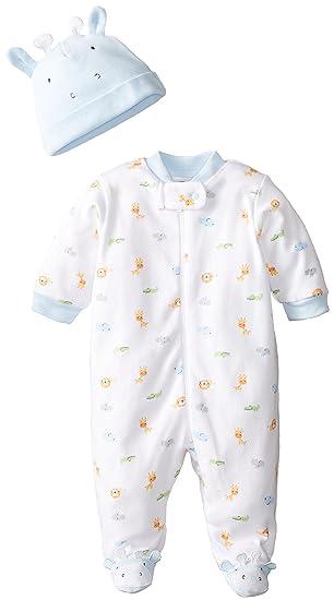 f4e037ca3abf0 Amazon.com: Gerber Baby-Boys Newborn 2 Piece Take Me Home Set Sleep N Play  and Cap Set: Clothing