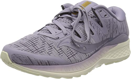 saucony ride mujer plata