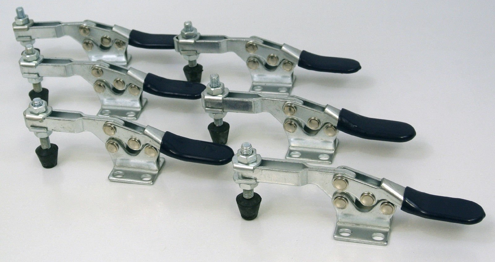 500 lb Horizontal Quick-Release Toggle Clamp - (Pack of 6)