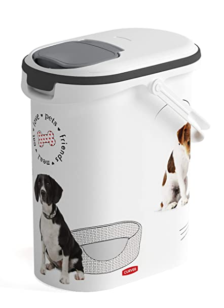 Beeztees Curver Dog Food Container 10 Litre With Handle Amazon Co